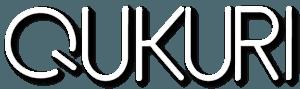 株式会社Qukuriロゴ(白)
